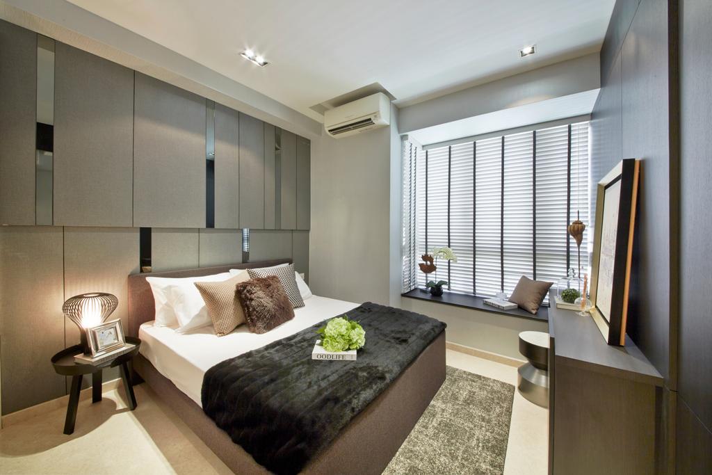 Modern, Condo, Bedroom, Flamingo Valley, Interior Designer, Elements ID, Indoors, Interior Design, Bathroom, Room