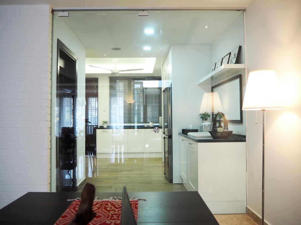 Contemporary, Condo, Kitchen, Ampang, Interior Designer, Meridian Interior Design, Couch, Furniture, Indoors, Room