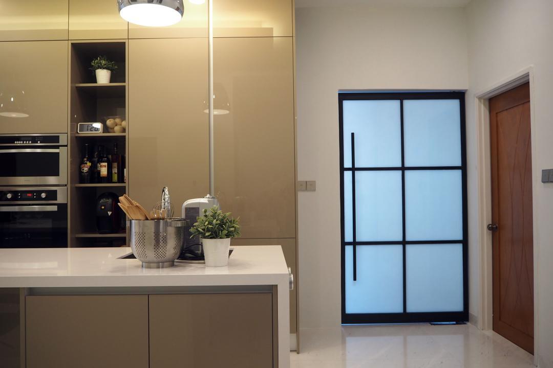 Ara Damansara, Meridian Interior Design, Kitchen, Landed, Flora, Jar, Plant, Potted Plant, Pottery, Vase, Bowl, Indoors, Interior Design