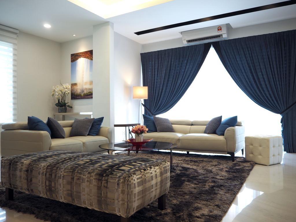Landed, Living Room, Ara Damansara, Interior Designer, Meridian Interior Design, Indoors, Interior Design, Couch, Furniture, Room