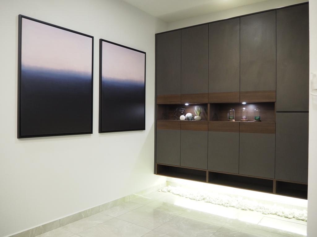 Modern, Landed, Ampang, Interior Designer, Meridian Interior Design