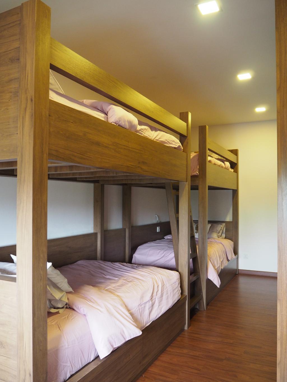 Modern, Landed, Bedroom, Ampang, Interior Designer, Meridian Interior Design, Bed, Furniture, Bunk Bed