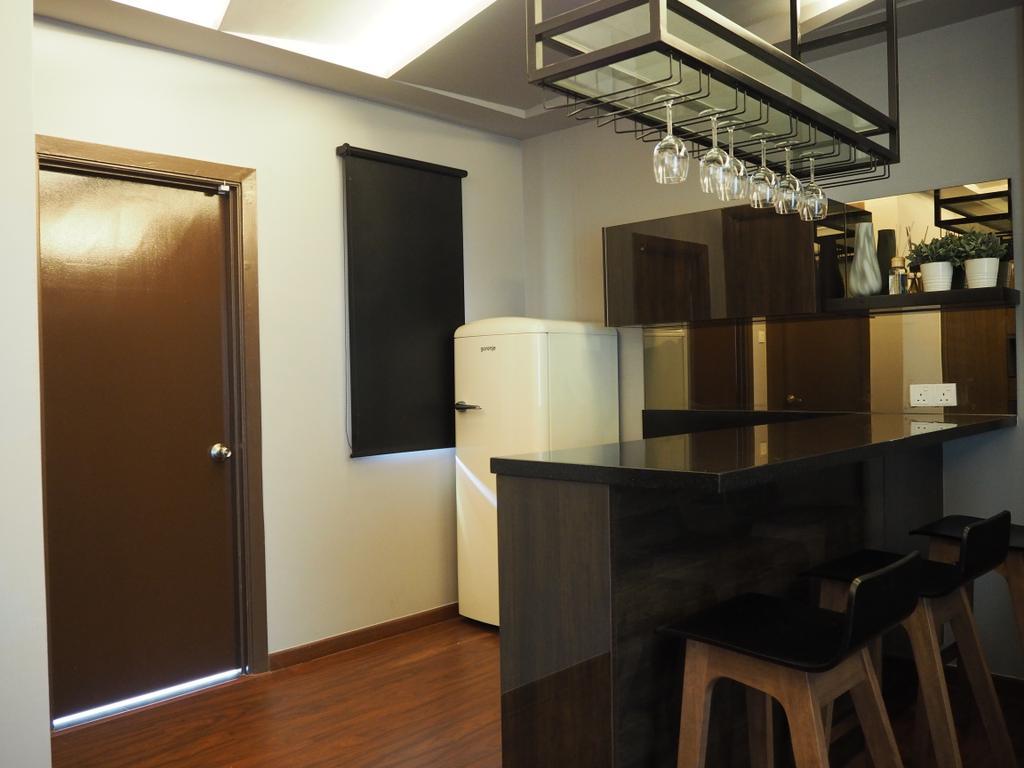 Modern, Landed, Ampang, Interior Designer, Meridian Interior Design, Flora, Jar, Plant, Potted Plant, Pottery, Vase