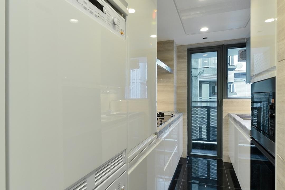 尚御, KOO interior design, 摩登, 私家樓, Appliance, Electrical Device, Oven, Corridor