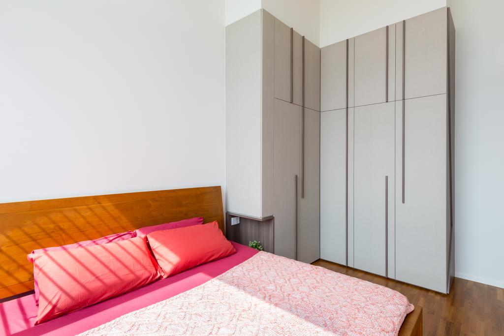 Condo, The Amore, Interior Designer, Prozfile Design, HDB, Building, Housing, Indoors, Bedroom, Interior Design, Room