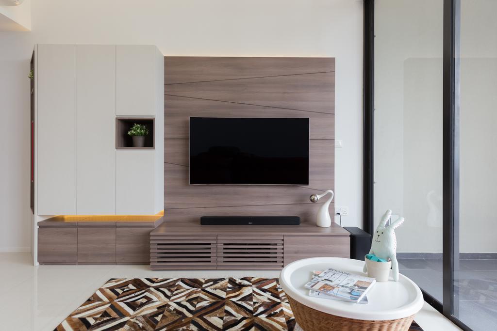 Condo, Living Room, The Amore, Interior Designer, Prozfile Design