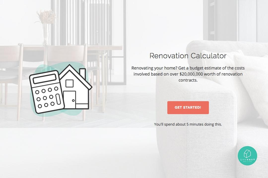 Renovation Budget Calculator Singapore