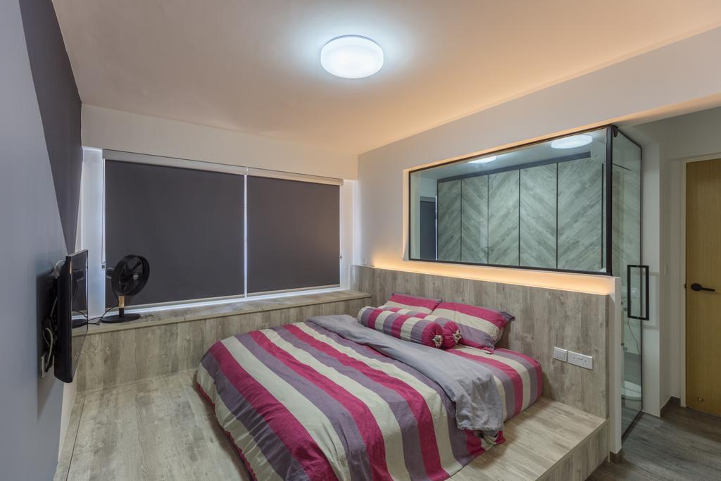 HDB, Bukit Batok West Avenue 8, Interior Designer, Team Interior Design, Bed, Furniture, Bedroom, Indoors, Interior Design, Room