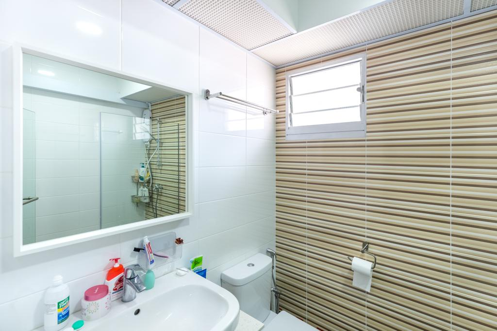 HDB, Bathroom, Bukit Batok West Avenue 8, Interior Designer, Team Interior Design, Indoors, Interior Design, Room, Toilet