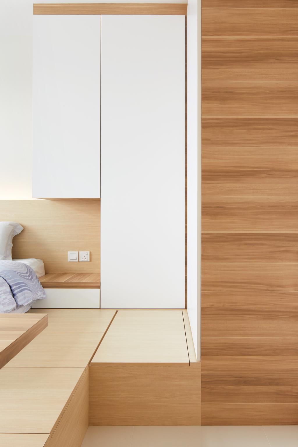 Modern, HDB, Bedroom, Joo Seng Road, Interior Designer, The Local INN.terior 新家室, Minimalist