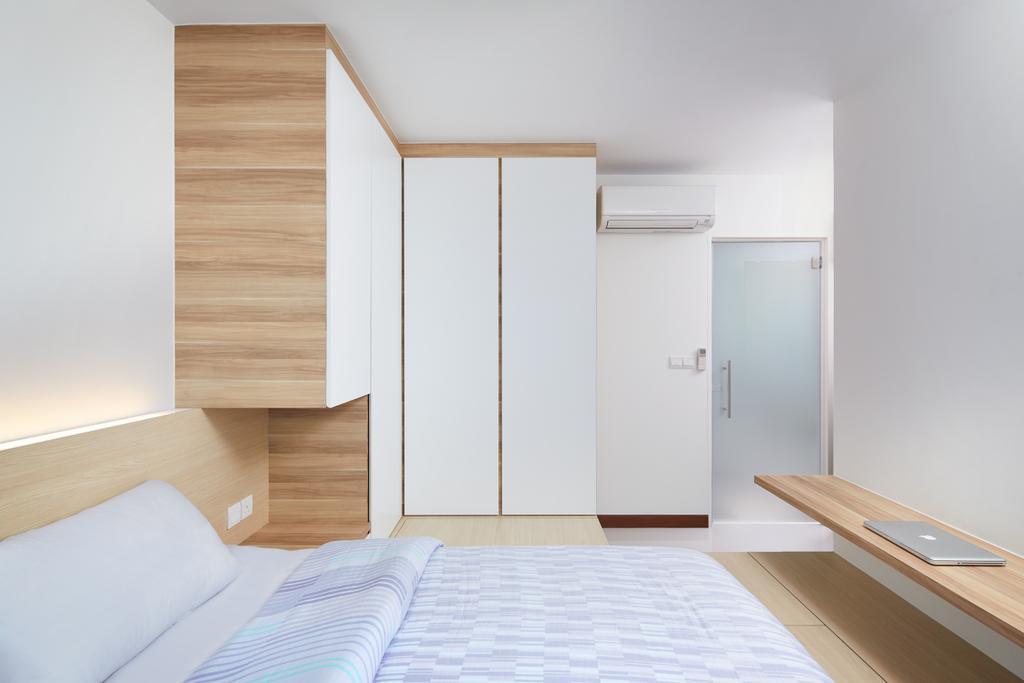 Modern, HDB, Joo Seng Road, Interior Designer, The Local INN.terior 新家室, Minimalist, Bed, Furniture