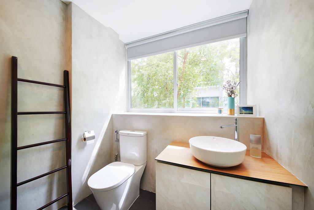 Minimalistic, Condo, Bathroom, West Coast, Interior Designer, The Local INN.terior 新家室, Modern, Toilet, Indoors, Interior Design, Room