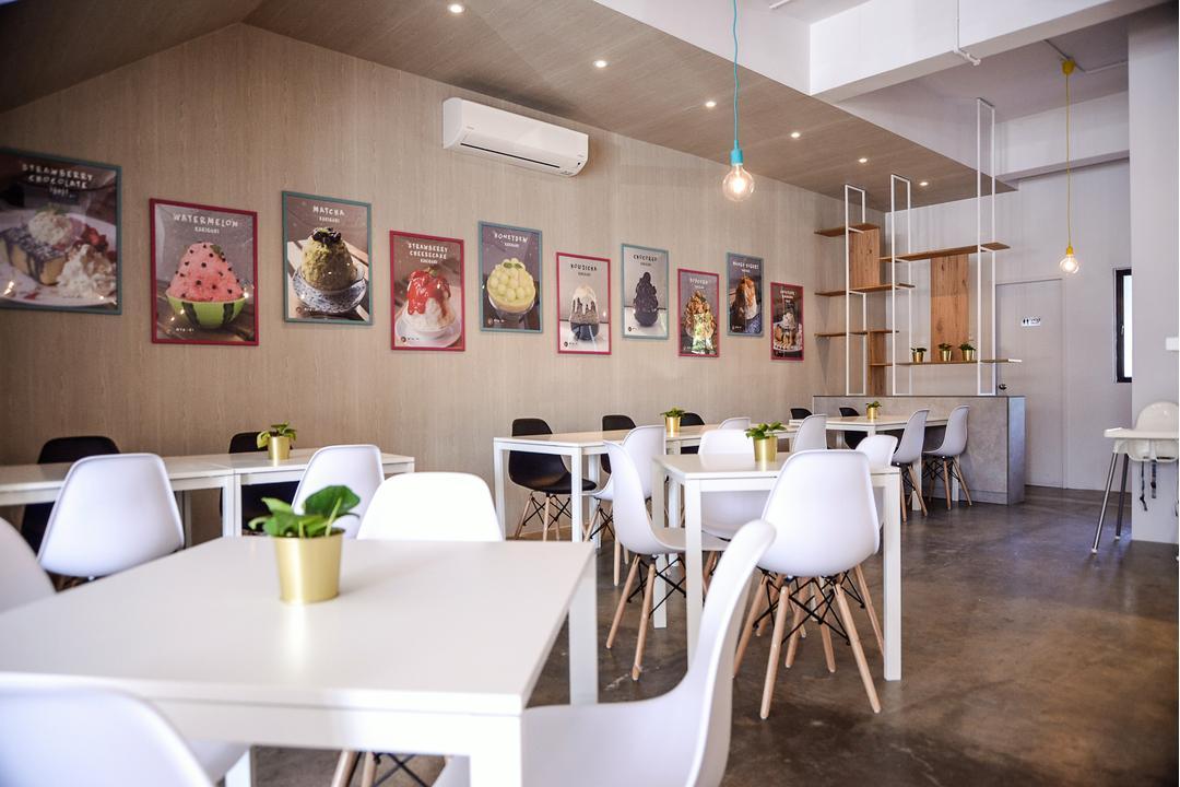 Mykori Dessert Cafe Mahkota Cheras Interior Design Renovation