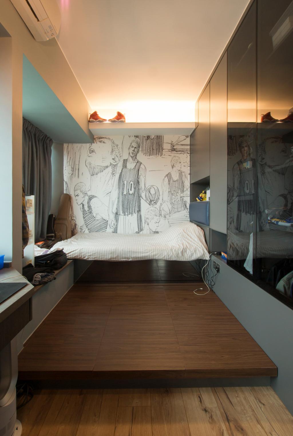 工業, 私家樓, 領都, 室內設計師, 雨田創建, 復古, Human, People, Person, Bed, Furniture