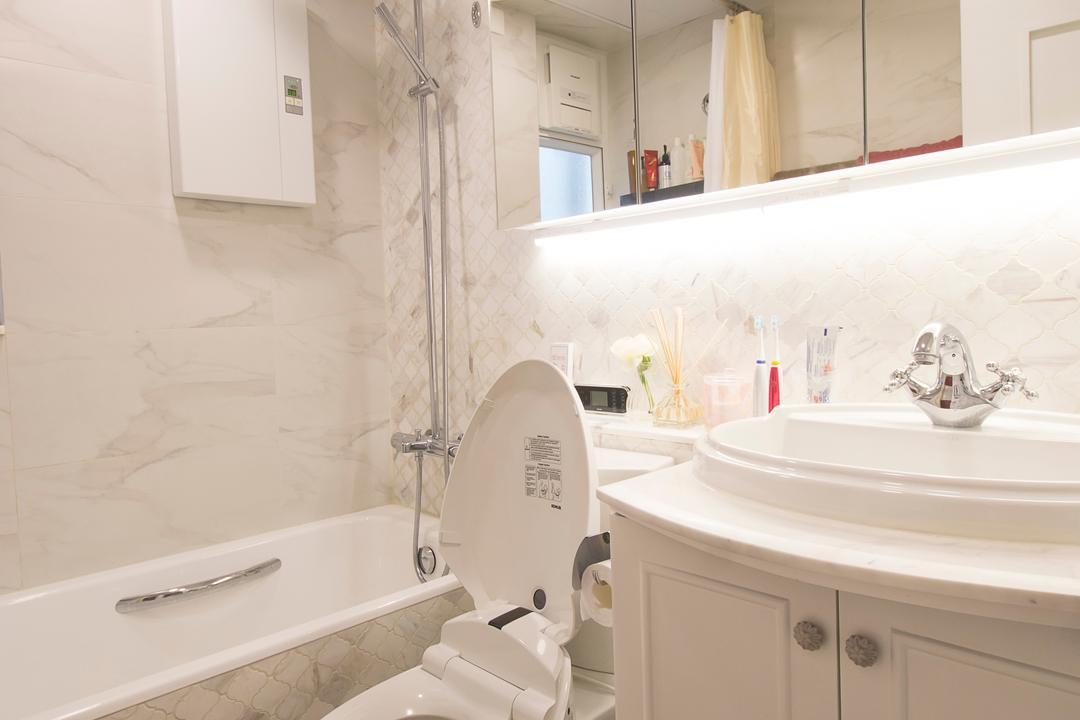 又一居, 雨田創建, 私家樓, Toilet, 浴室, Indoors, Interior Design, Room, Sink, Jacuzzi, Tub