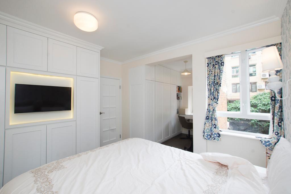 私家樓, 又一居, 室內設計師, 雨田創建, 睡房, Indoors, Interior Design, Room, Bed, Furniture