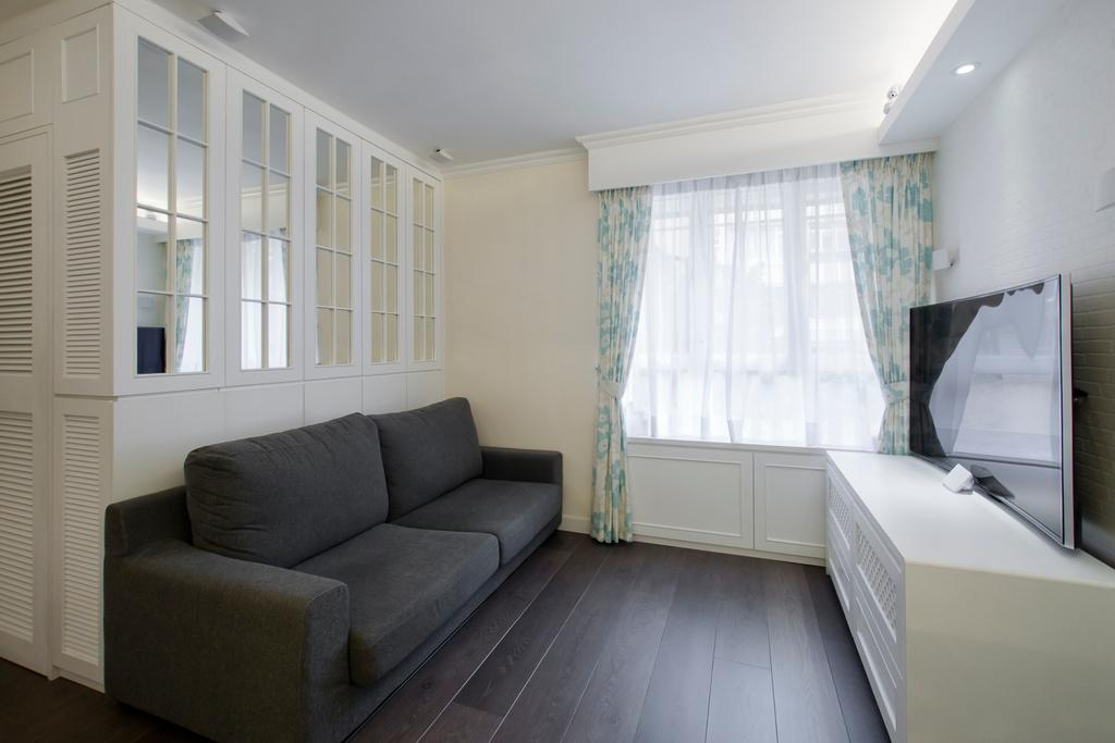 私家樓, 又一居, 室內設計師, 雨田創建, Couch, Furniture