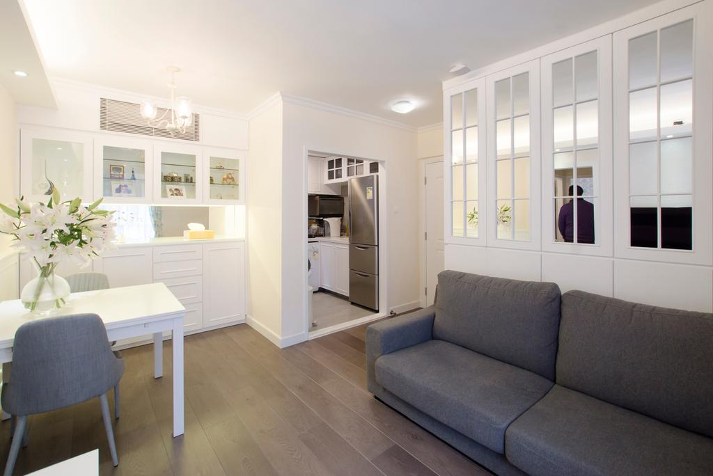 私家樓, 又一居, 室內設計師, 雨田創建, Couch, Furniture, Chair