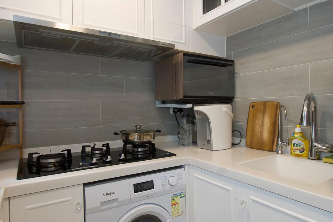 又一居, 雨田創建, 私家樓, Appliance, Electrical Device, Microwave, Oven, Indoors, Interior Design, 廚房, Room