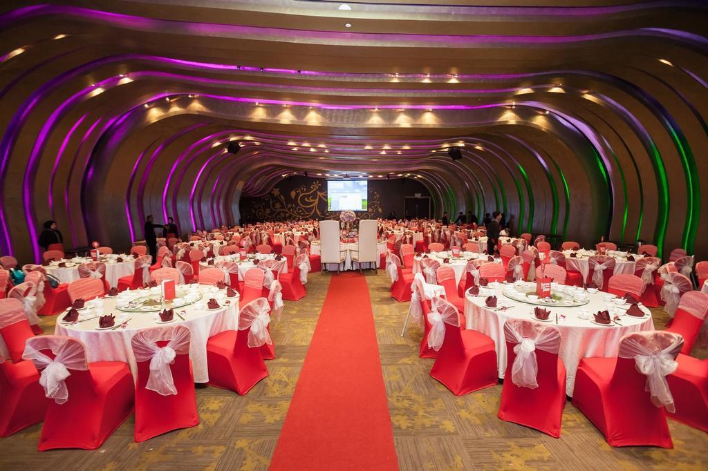 Empire Hotel (Subang), Commercial, Interior Designer, Icon Factory, Contemporary, Ballroom, Indoors, Interior Design, Room, Home Decor, Linen, Tablecloth