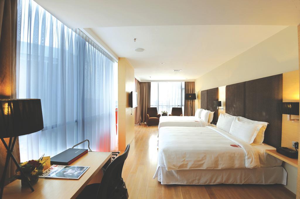 Empire Hotel (Subang), Commercial, Interior Designer, Icon Factory, Contemporary, Bed, Furniture, Indoors, Room, Bedroom, Interior Design