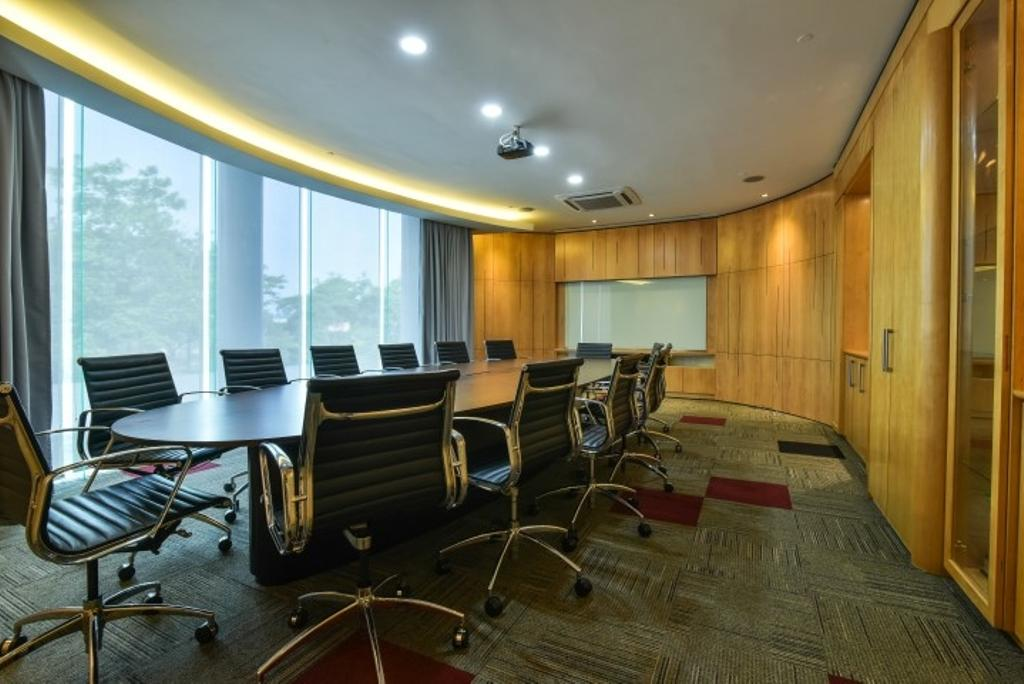 Century Total Logistics (Klang), Commercial, Interior Designer, Icon Factory, Contemporary, Chair, Furniture, Conference Room, Indoors, Meeting Room, Room
