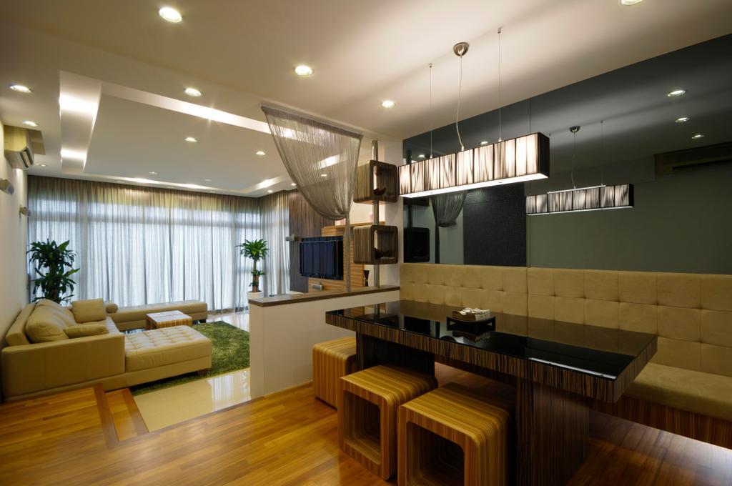 Transitional, Condo, Dining Room, Costa Del Sol, Interior Designer, Inside Story