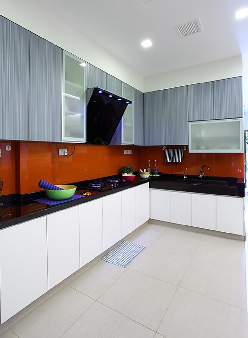 Transitional, Landed, Kitchen, Jalan Yasin, Interior Designer, Inside Story