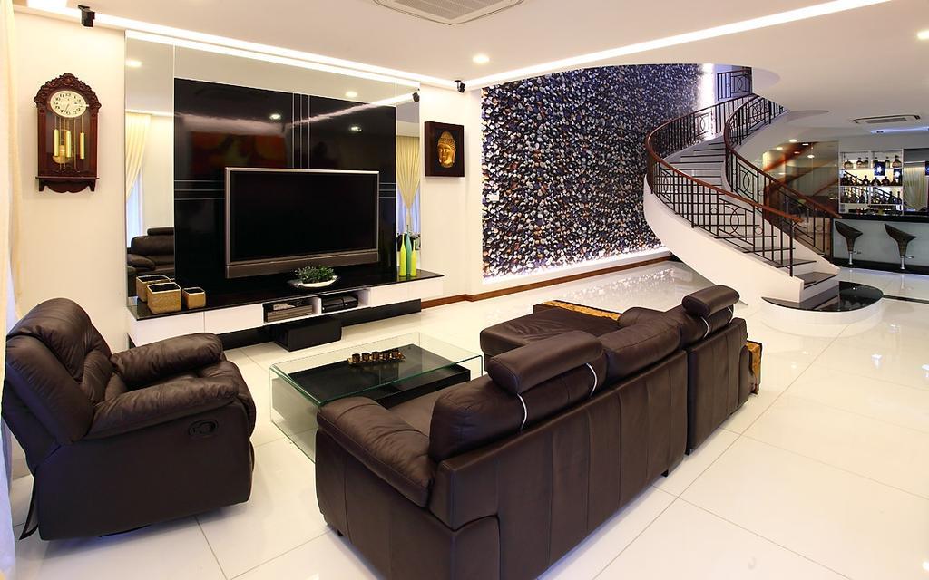 Transitional, Landed, Living Room, Jalan Yasin, Interior Designer, Inside Story