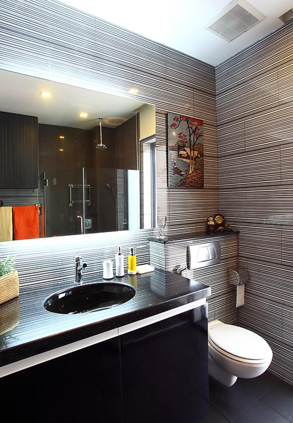 Transitional, Landed, Bathroom, Jalan Yasin, Interior Designer, Inside Story