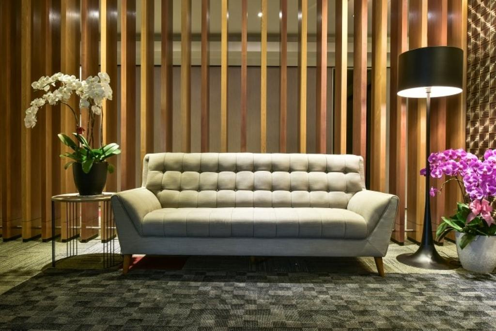 Century Total Logistics (Klang), Commercial, Interior Designer, Icon Factory, Contemporary, Indoors, Room, Flora, Jar, Plant, Potted Plant, Pottery, Vase, Chair, Furniture, Couch, Lighting
