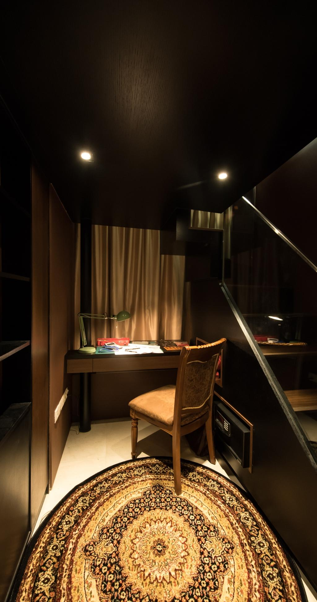 Condo, Study, The Cape, Interior Designer, Fatema Design Studio, Indoors, Interior Design, Kitchen, Room