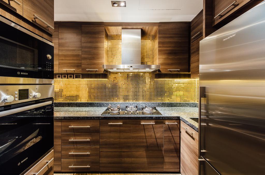 Contemporary, Condo, Kitchen, Regent Grove, Interior Designer, Fatema Design Studio