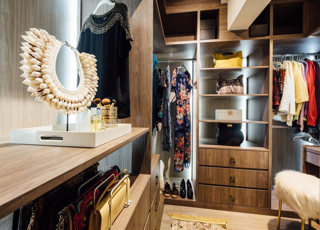 Scandinavian, HDB, Tampines Street 22, Interior Designer, Fatema Design Studio, Food