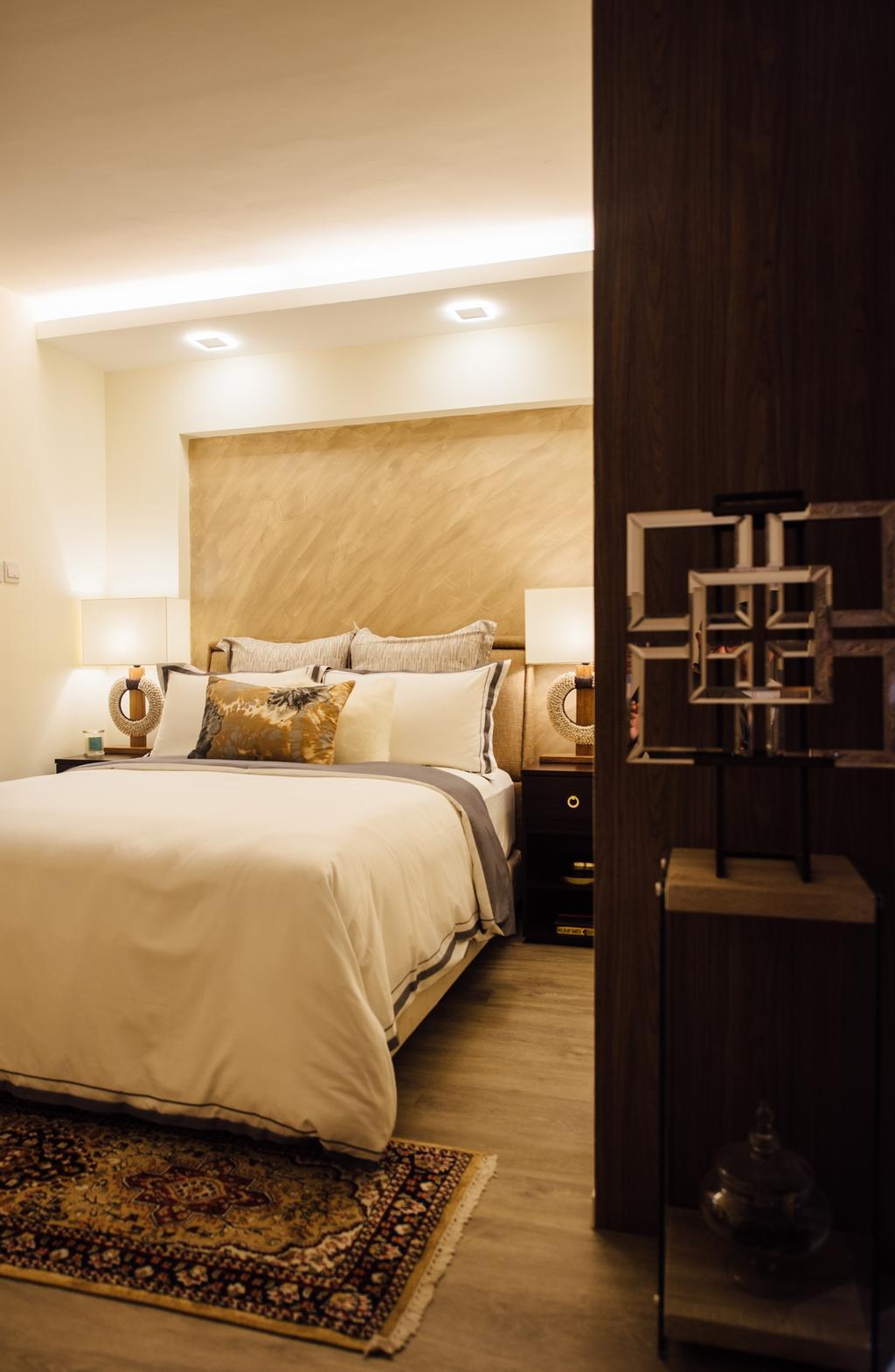 Scandinavian, HDB, Tampines Street 22, Interior Designer, Fatema Design Studio, Indoors, Room, Bed, Furniture