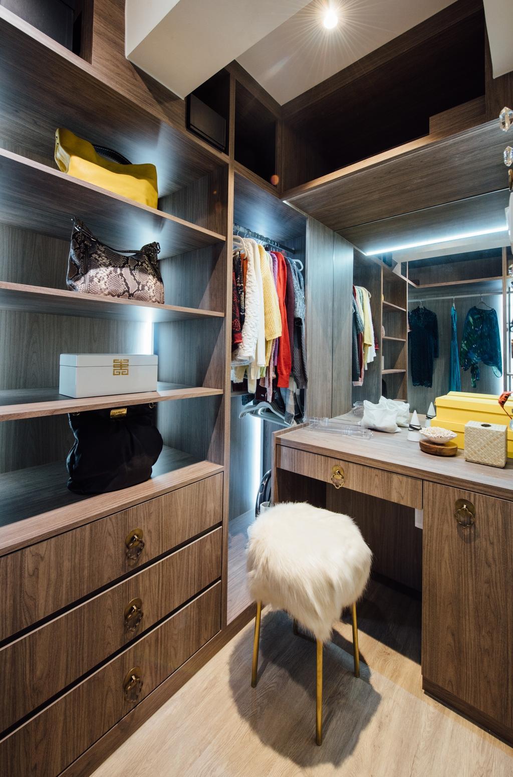 Scandinavian, HDB, Tampines Street 22, Interior Designer, Fatema Design Studio, Bed, Furniture