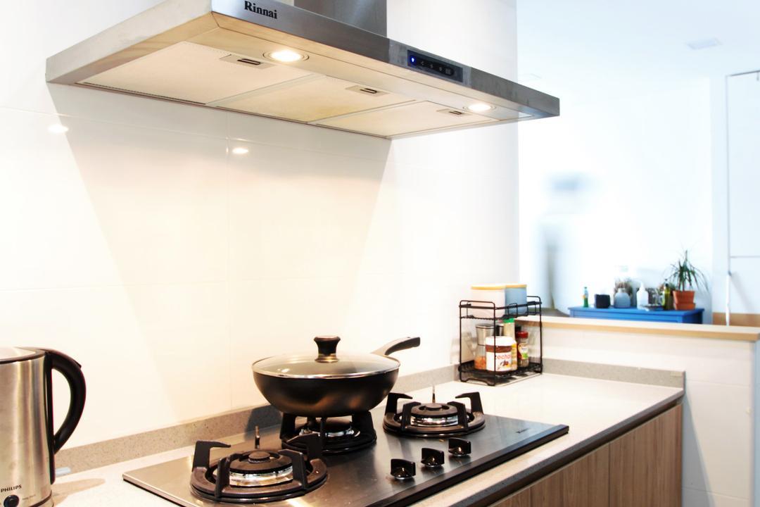 Jalan Tenteram, Intrigue-d Design Consultancy, Minimalistic, Scandinavian, Kitchen, HDB, Coffee Cup, Cup