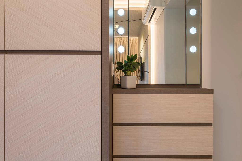 Scandinavian, HDB, Bedroom, Fajar Road, Interior Designer, Thom Signature Design