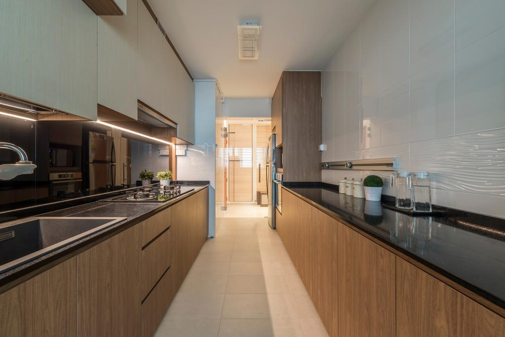 Scandinavian, HDB, Kitchen, Fajar Road, Interior Designer, Thom Signature Design