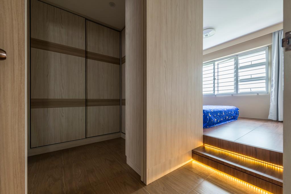Scandinavian, HDB, Kebun Baru Court, Interior Designer, DreamCreations Interior