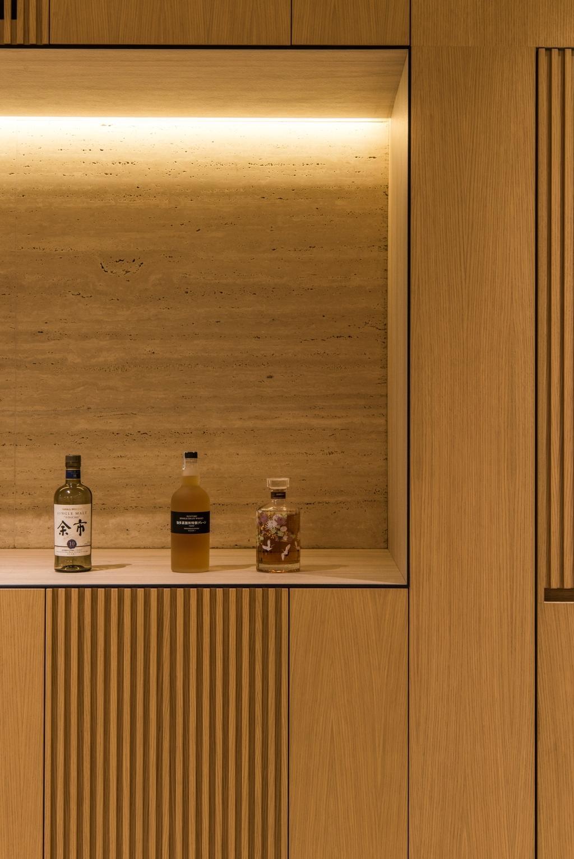 Scandinavian, Condo, Bathroom, Pinewood Gardens, Architect, 7 Interior Architecture, Alcohol, Beer, Beer Bottle, Beverage, Bottle, Drink