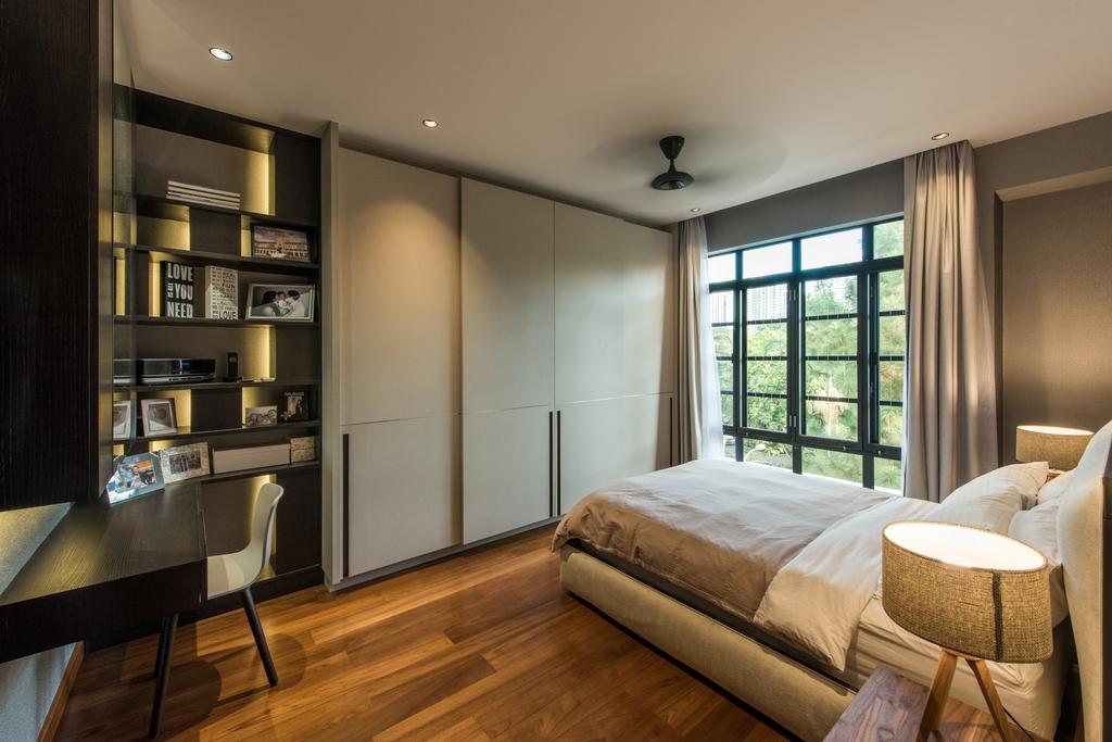 Scandinavian, Condo, Bedroom, Pinewood Gardens, Architect, 7 Interior Architecture, Chair, Furniture, Indoors, Room