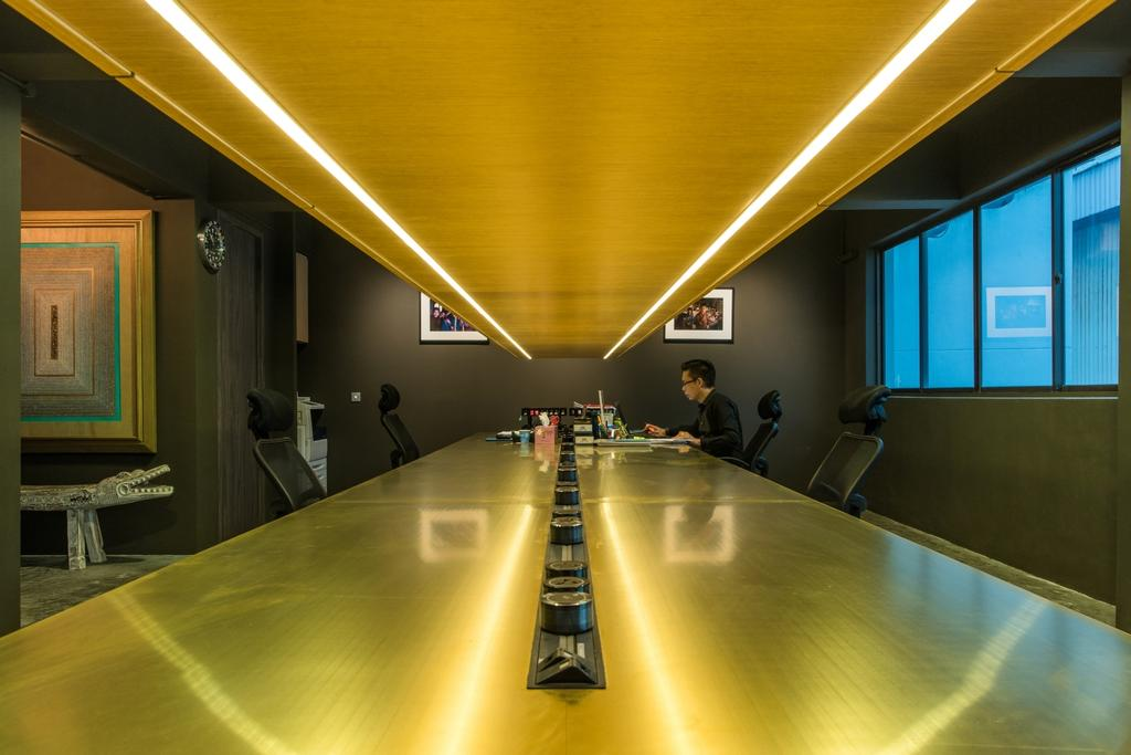 Shunzhou Group, Commercial, Architect, 7 Interior Architecture, Industrial, Contemporary, Machine, Ramp, Molding, Conference Room, Indoors, Meeting Room, Room