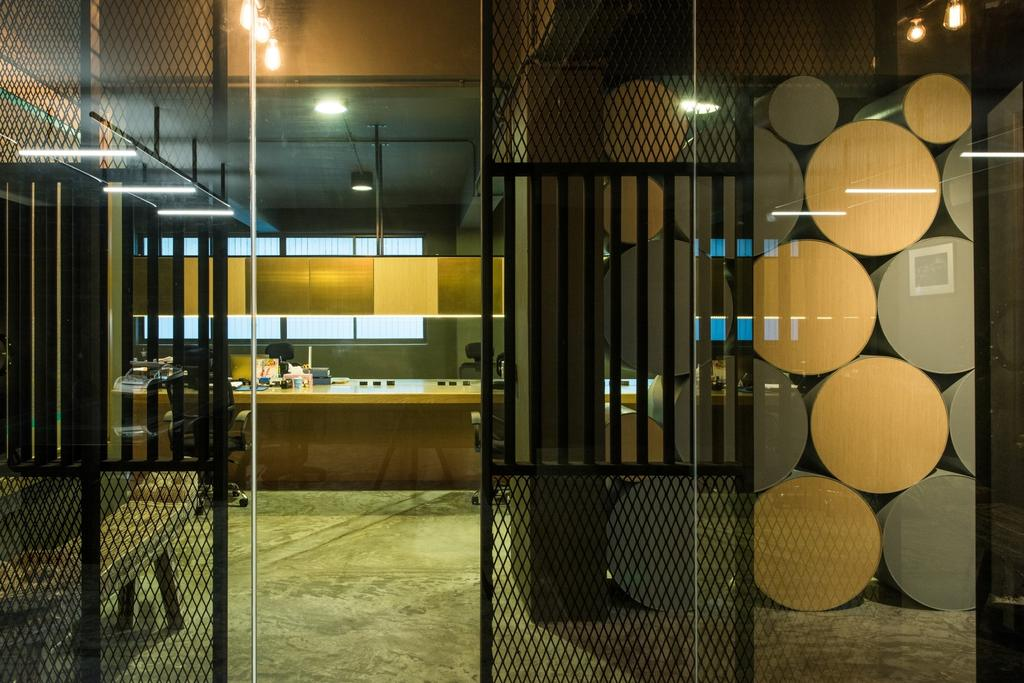 Shunzhou Group, Commercial, Architect, 7 Interior Architecture, Industrial, Contemporary, Lighting, Basement, Indoors, Room