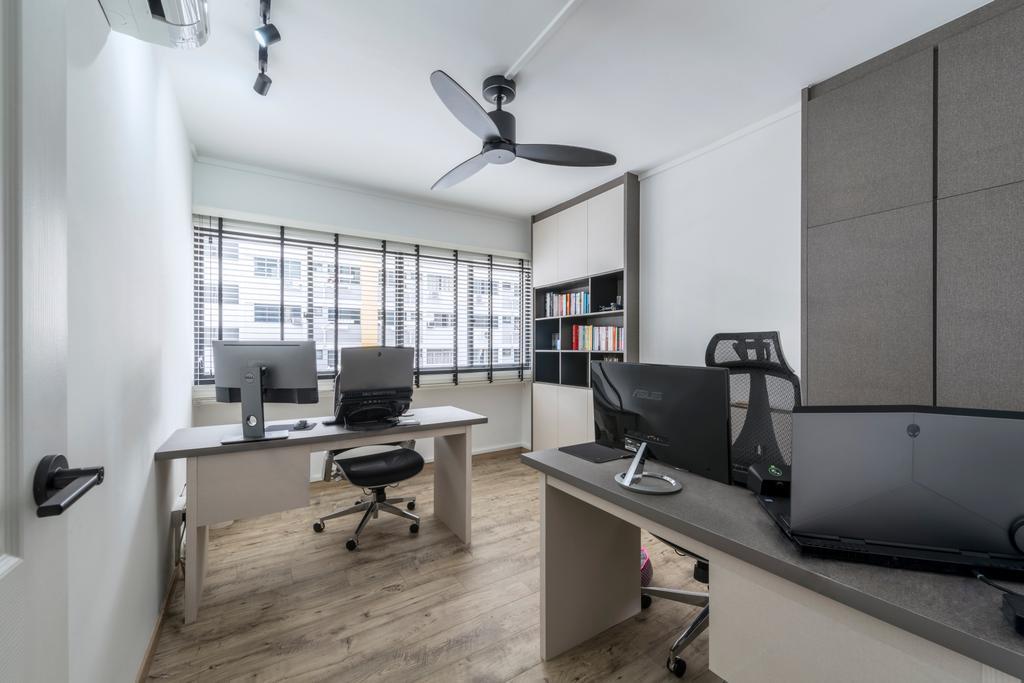 Modern, HDB, Study, Pipit Road, Interior Designer, Meter Square, Indoors, Office, Sink