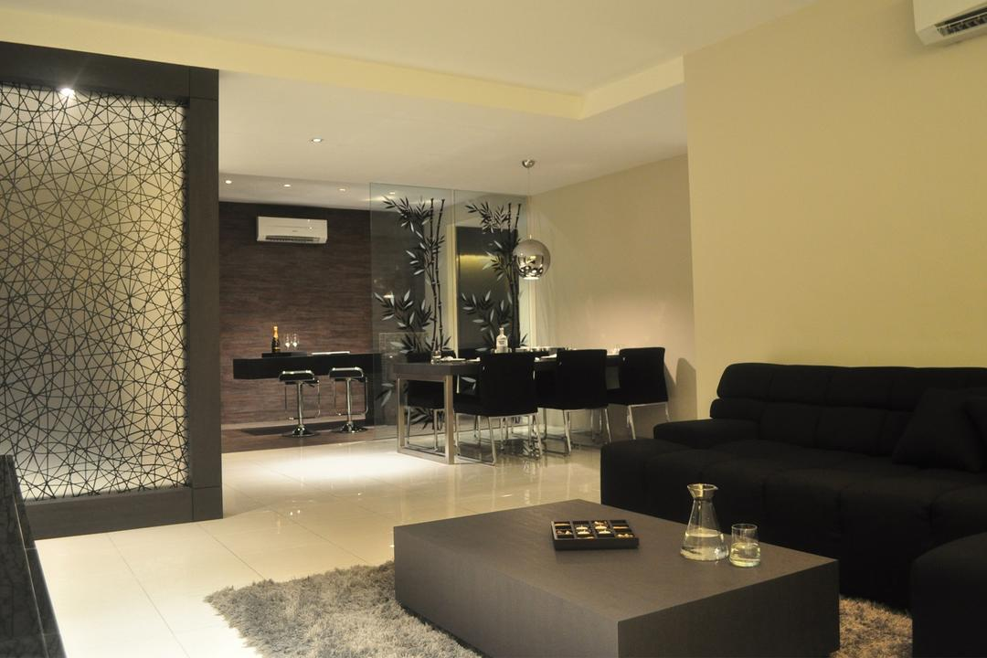The Waterfront 2 Living Room Interior Design 4