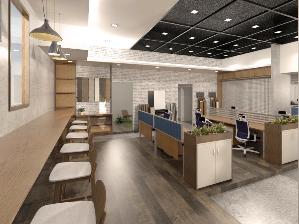 Construction Industry, Commercial, Interior Designer, WILSIN, Scandinavian, Chair, Furniture, Indoors, Office, Flooring