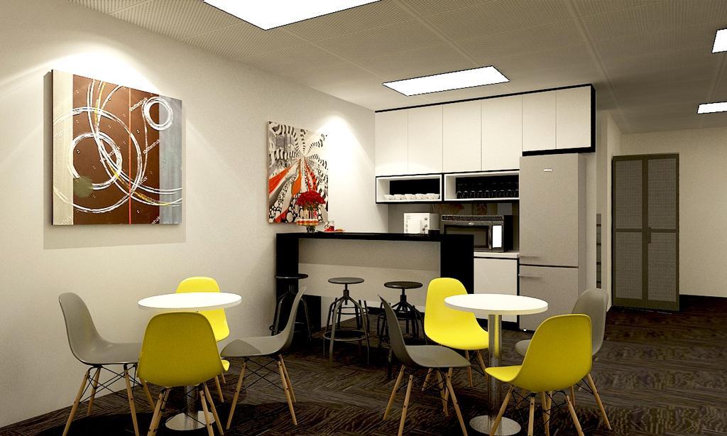 Logistic Industry, Commercial, Interior Designer, WILSIN, Contemporary, Chair, Furniture, Indoors, Room, Dining Room, Interior Design