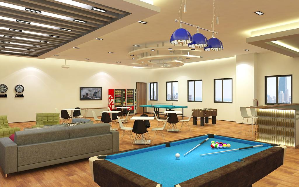 Marine Industry, Commercial, Interior Designer, WILSIN, Contemporary, Billiard Room, Furniture, Indoors, Pool Table, Room, Table, Couch