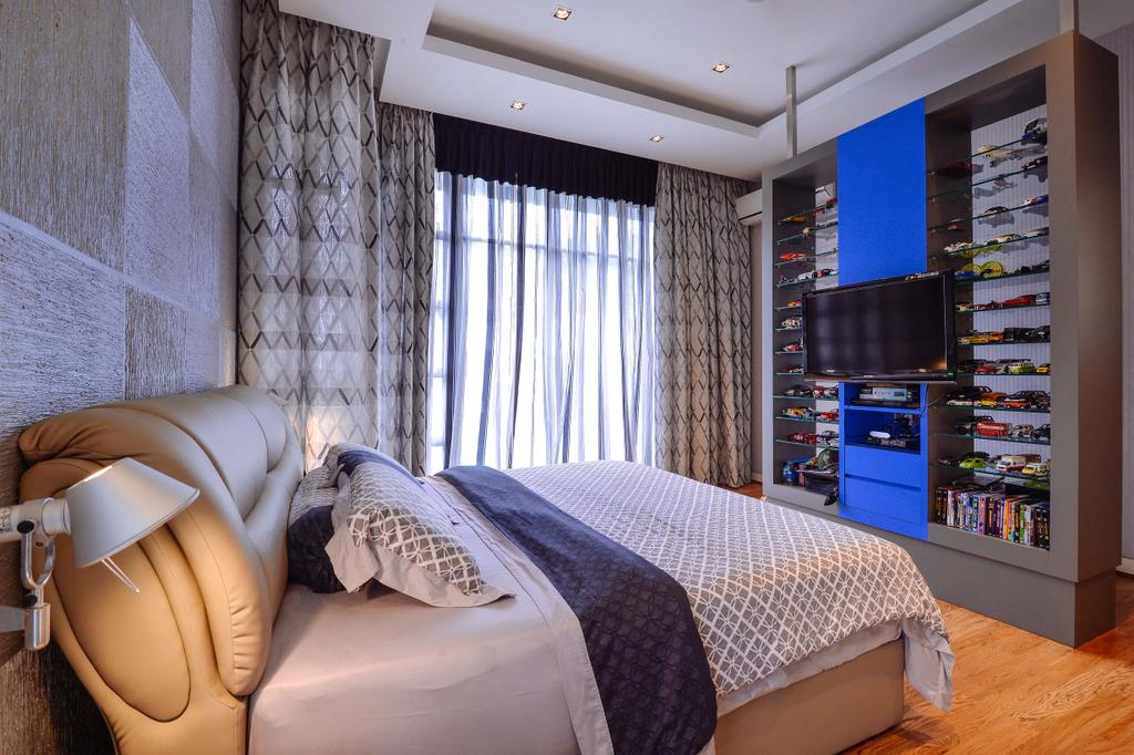 Transitional, Landed, Bedroom, Ampang Valley, Interior Designer, Icon Factory, Appliance, Electrical Device, Oven, Indoors, Interior Design, Room